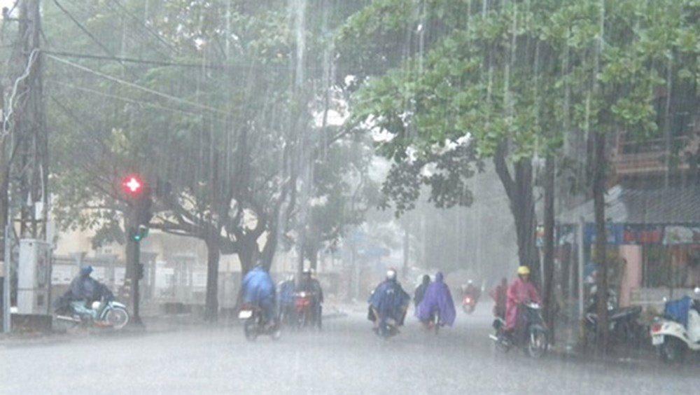 Thời tiết 17/8: Ảnh hưởng của bão số 4, Bắc Bộ mưa to và rất to