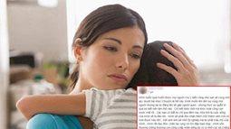 Tâm sự chết lặng của người phụ nữ nhận nuôi 'kết quả' ngoại tình chỉ vì quá yêu thương chồng