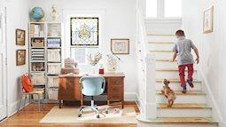 Ngôi nhà nhỏ với đồ nội thất tự đóng đẹp khó rời mắt