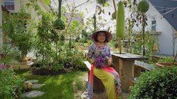 Mẹ Việt ở Đức tự hào về khu vườn 'cái gì cũng có'