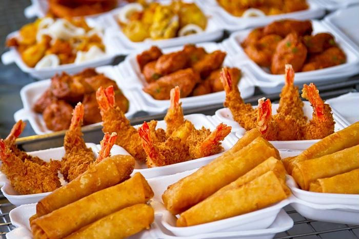 Thực phẩm khi đã qua chế biến ở nhiệt độ cao thường sinh ra rất nhiều chất độc hại hình ảnh