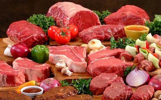 Lượng protein trong thịt đỏ có thể làm mất cân bằng lượng canxi trong xương hình ảnh