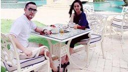 Anh trai Bảo Thy và hot girl Trang Pilla tới thiên đường Maldives kỷ niệm một năm ngày cưới