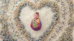 Hình ảnh đặc biệt của em bé được sinh ra nhờ thụ tinh trong ống nghiệm