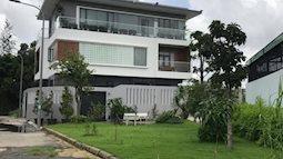 Căn biệt thự vườn xanh mướt của MC Ốc Thanh Vân
