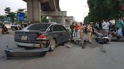 Thêm một vụ xe điên tông liên tiếp nhiều phương tiện, 2 cháu nhỏ phải nhập viện cấp cứu