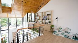 Ngôi nhà tối giản của cô gái xây cho bố, phá vỡ phong cách truyền thống nhưng rất đẹp