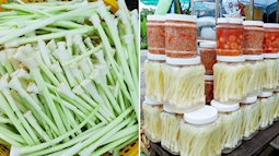 Dưa chua bồn bồn - đặc sản nổi tiếng vùng đất mũi