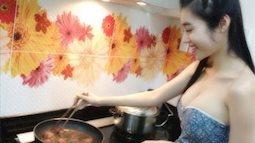 Không chỉ nổi tiếng với những đường cong, Elly Trần còn có tài nấu ăn không thua Master Chef