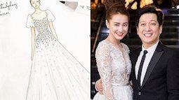 Trong đám cưới với Trường Giang, Nhã Phương sẽ diện chiếc váy như thế nào?