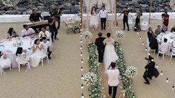 Dù đám cưới an ninh thắt chặt nhưng vẫn lộ ảnh cưới Trường Giang và Nhã Phương trên mạng xã hội
