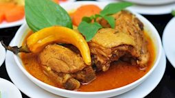 Trổ tài nấu món cà ri vịt cực kỳ đưa cơm cho ngày mưa