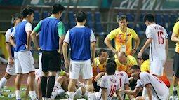 Thường xem bóng đá thấy cầu thủ súc miệng giữa trận, bạn có biết tại sao?