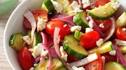3 món salad detox giảm cân hiệu quả cho chị em làm ăn ngay hôm nay!
