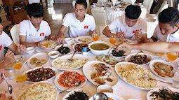 Tuyển U23 Việt Nam ăn gì để đủ chất đủ lực đá trận bán kết chiều nay?