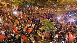 Trận chung kết U23 Việt Nam - U23 Hàn Quốc, phố đi bộ Nguyễn Huệ cấm đường