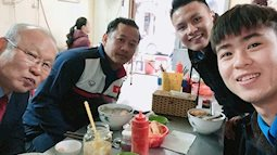 Thói quen kì lại của HLV Park Hang Seo mỗi khi có trận đấu: uống 10 ly cà phê một ngày