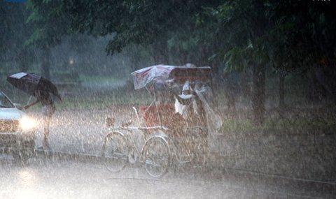 Thời tiết 30/8/2018: Ảnh hưởng của áp thấp nhiệt đới, hôm nay, Bắc Bộ và Bắc Trung Bộ mưa lớn cả ngày thời tiết mát mẻ