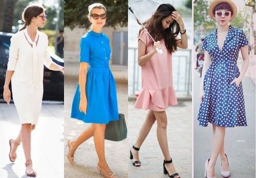 Chị em nên nhớ: Váy nào giày đấy mới có thể đẹp đúng điệu