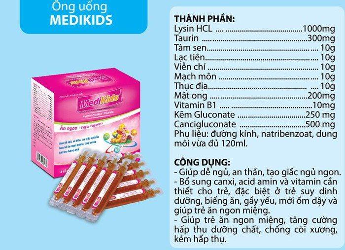 Bộ Y tế đã chính thức thu hồi sản phẩm Medikids cho trẻ em
