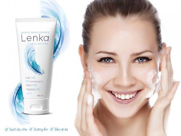 Do kém chất lượng, sữa rửa mặt đặc biệt Lenka chính thức bị thu hồi