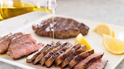 Nếu không muốn gặp hoạ đừng dùng chung thịt bò với những thực phẩm sau