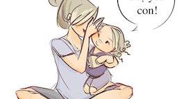 Bộ tranh cả ngày loanh quanh với bỉm sữa nhận được sự đồng cảm sâu sắc của các Mẹ