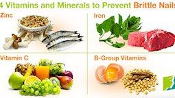Móng tay giòn và dễ gãy bổ sung ngay 4 loại vitamin này