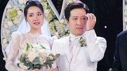 Trường Giang - Nhã Phương bật khóc trong ngày cưới khi nhớ lại những sóng gió đã trải qua
