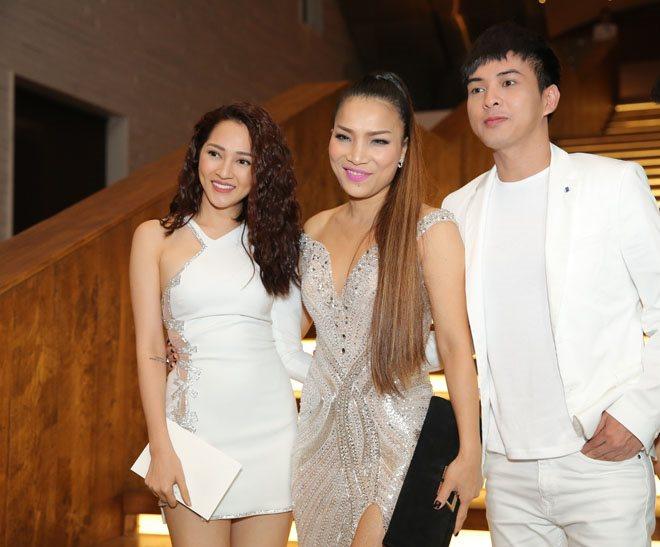 Sau 1 năm chia tay, Bảo Anh và Hồ Quang Hiếu bất ngờ tái ngộ tại đám cưới Trường Giang