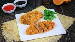 Không chỉ có gà rán, món thịt thăn rán cũng hấp dẫn không kém