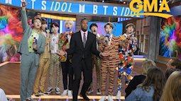 Nhóm nhạc Kpop đình đám BST xuất hiện rực rỡ ở Mỹ, muốn thành Idol toàn cầu