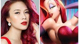 Những bức ảnh của sao Việt giống nhân vật hoạt hình đến khó đỡ