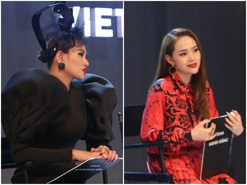 """Võ Hoàng Yến """"chê bai"""" Minh Hằng không thương tiếc trong The Face Viet Nam 2018"""