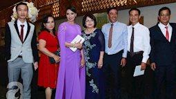 Trong đám cưới Lan Khuê, nhiều người tấm tắc vì mẹ ruột siêu mẫu quá đẹp và sang trọng