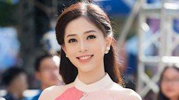 Ngắm dung nhan xinh đẹp của á hậu Phương Nga trước khi lên đường thi Hoa hậu Hòa Bình Thế Giới