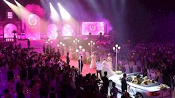 Chi 10 tỷ thuê địa điểm và ca sĩ góp vui, đám cưới ở Đà Nẵng trở thành đám cưới thế kỷ