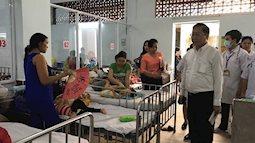 Sở Y tế đột xuất kiểm tra công tác phòng chống tay chân miệng
