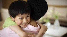 Hãy dành ra 3 phút ôm con ngay sau khi đi làm về để có được niềm tin của con cái