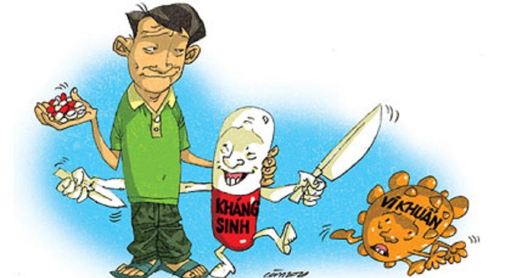 Tự ý dùng kháng sinh và dùng không đúng liều khiến bệnh khó điều trị