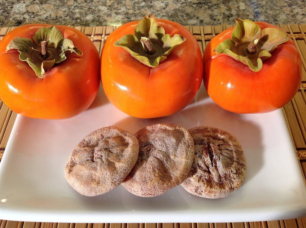 Hồng treo - món ăn gây sốt cho ngày cuối thu