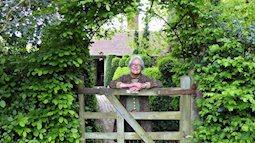 Khu vườn mộng mơ của bà lão 70 tuổi