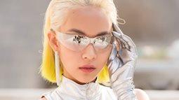 Choáng với bộ đồ hàng hiệu như người ngoài hành tinh của Phí Phương Anh khi dự Seoul Fashion Week