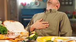 Bạn có biết ăn no quá cũng gây tội cho sức khỏe của mình