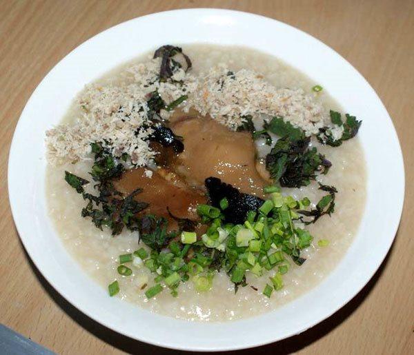 Món cháo bổ dưỡng được nấu từ loại củ 'độc'