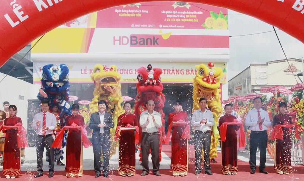 HDBank khai trương điểm giao dịch thứ 280 tại Trảng Bàng - Tây Ninh