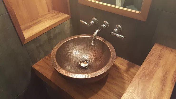 Ngắm những kiểu chậu rửa độc đáo giúp phòng tắm nhà bạn đẹp hơn
