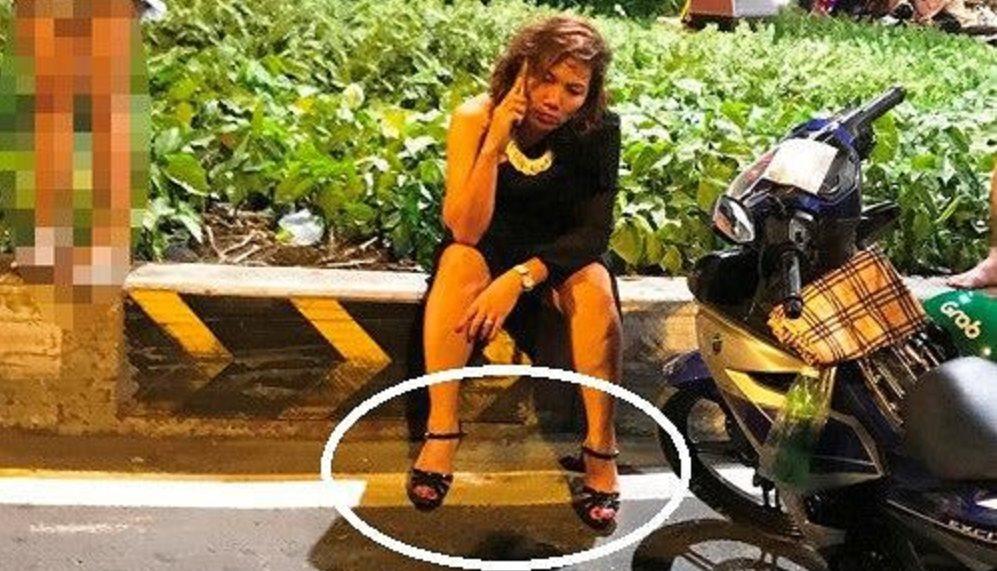 Giày cao gót vướng vào chân ga, nữ tài xế BMV gây tai nạn liên hoàn ?