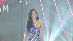 Á hậu Phương Nga quá rực rỡ và xinh đẹp ở bán kết Miss Grand International 2018