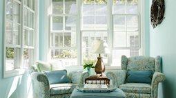 Ngôi nhà màu xanh lam – tổ ấm bình yên đón bước chân bạn trở về